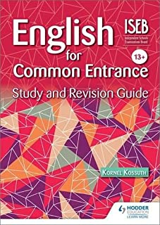 English for Common Entrance Study and Revision Guide