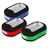 3X 27 LED Compact Work Light Magnetic W/Hook - 3 Pack by AlltroLite