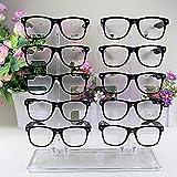 Avmy 5 Strati Occhiali da Sole Trasparenti Rack Shelf Occhiali da Sole Porta Occhiali Occhiali Vendita al Dettaglio Occhiali da Vista Espositore-Trasparente