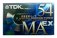 TDK メタルカセットテープ MA EX 54分 METAL/TYPE Ⅳ MAEX-54