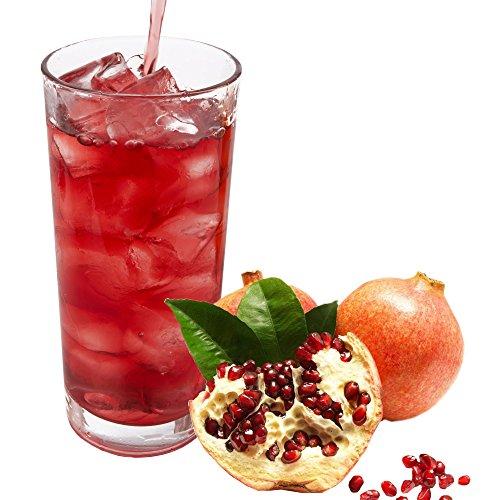 Granatapfel Geschmack extrem ergiebiges allergenfreies Energy Drink - Getränkepulver Sportgetränk