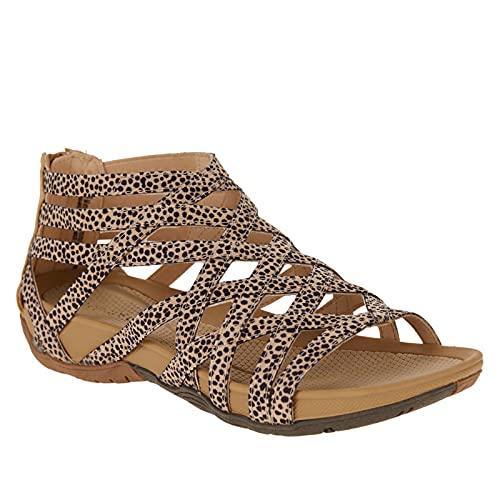 Frauen Sommer Ultraweiche rutschfest Elegant komfortabel Hausschuhe Beiläufig Mode Römischer Stil Verband Flache Schuhe Sneaker Sandalen für weibliche leichte Strandschuhe Outdoor wandere Schuhe