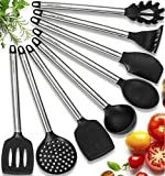 Home Hero 11 Silicone Cooking Utensils Kitchen...