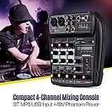 Immagine 2 muslady console mixer 4 canali