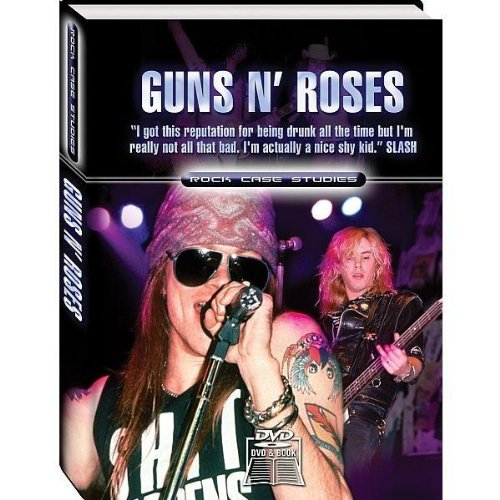 Rock Case Studies - Guns N' Roses [DVD + Book] [Import anglais]