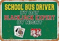 School Bus Driver By Day ティンサイン ポスター ン サイン プレート ブリキ看板 ホーム バーために