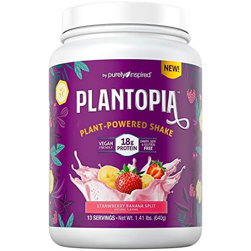 Vegan Protein Powder | Purely Inspired Plantopia | Silky-Smooth Plant Based Protein Powder for Women...