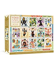 Women in Art Puzzle: Fearless Creatives Who Inspired the World 500-Piece Jigsaw Puzzle and Poster: Jigsaw Puzzles for Adults and Jigsaw Puzzles for Kids