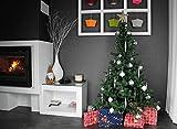 Jardideco - Sapin de Noël artificiel Luxe 210 cm