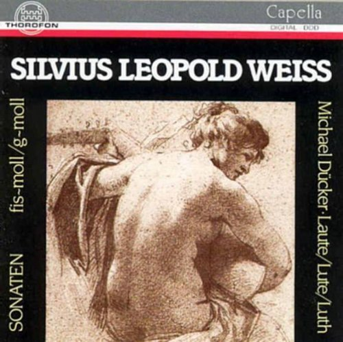 Lute Sonatas by Weiss, Silvius Leopold (1991-12-01)