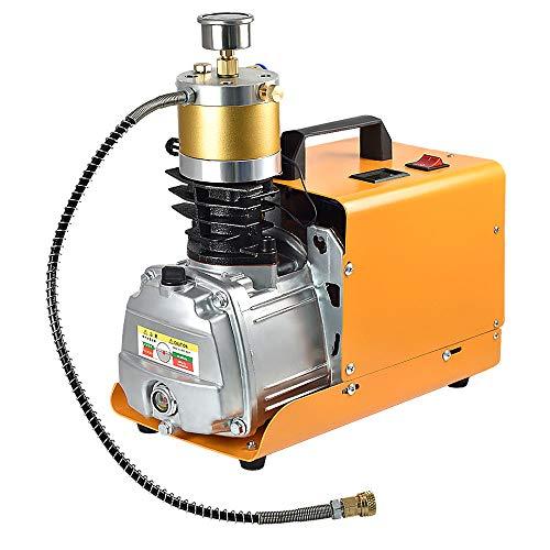 MENGS 300Bar 30MPA 4500PSI Hochdruck Druckluftpumpe Elektrische Kompressor PCP Luftpumpe für Druckluftpistole PCP-Luftpumpe Geeignet, normale Pkw-Fahrräder und Fahrradreifen