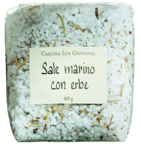 Sizilianisches Meersalz mit Kräutern zum Grillen Sale marino con erbe Siciliano