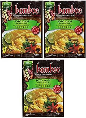 Bamboe Soto Ayam (Yellow Chicken Soup Seasoning) - 1.4oz [Pack of 6]
