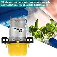 【バレンタインデーカーニバル】アクアリウムの実験室の分析的な2 * 4mm 6VのためのDCのマイクロ水液体のist動性ポンプ(黄)