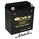 Caltric Agm Battery Compatible With Suzuki Ltf500F Lt-F500F Quadrunner 500 4X4 1998 1999-2002