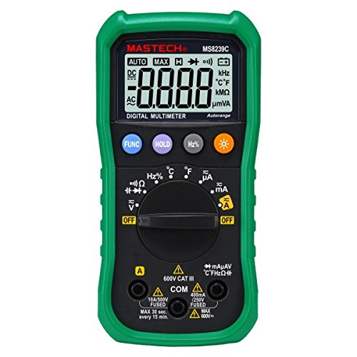 Mastech MS8239C Auto range Handheld Digital Multimeter Capacitance Frequency Temperature Tester