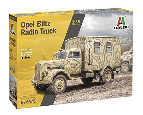 Outletdelocio.. Italeri 6575. Maqueta Camion Opel Blitz Radio Truck. Kit de Montaje. Escala 1/35