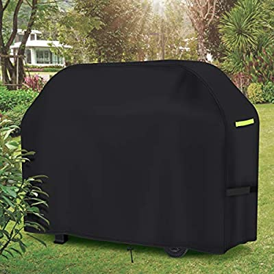 GEMITTO Grill Cover, 420D Heavy Duty Waterproof...