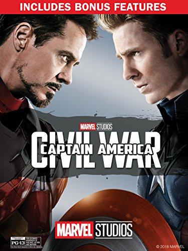 Captain America: Civil War (Plus Bonus Features)