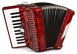 top 10 hohner accordion Hohner Accordion 1304-RED