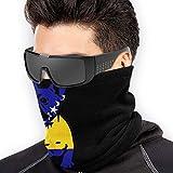 Zcfhike Bosnian Flag Bulldog Microfiber Polyester Seamless Windproof Bandana & Face Mask & Neck Warmer Gaiter Shield - for Unisex