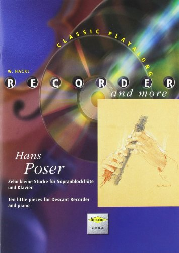 Recorder and more: Hans Poser, mit CD