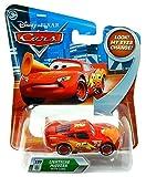 Rayo McQueen R8175 Cars Disney, con cono, ¡sus ojos cambian! #127