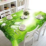 XXDD Mantel de decoración de Boda 3D Magnolia Blanca patrón de...