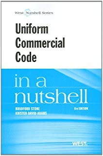 Uniform Commercial Code in a Nutshell (Nutshells)