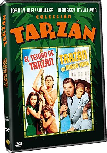 Le Trésor de Tarzan + Tarzan à New York [Italia] [DVD]