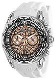 Technomarine Men's Technocell Stainless Steel Quartz Watch with Silicone Strap, White, 24 (Model: TM-318002)