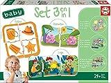Educa Set Baby 3 En 1: Colores, Lógica y Opuestos, Juego Educativo para bebés (18123)