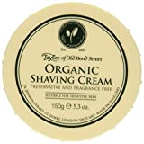 Taylor of Old Bond Street Organic Shaving Cream Bowl, Crema