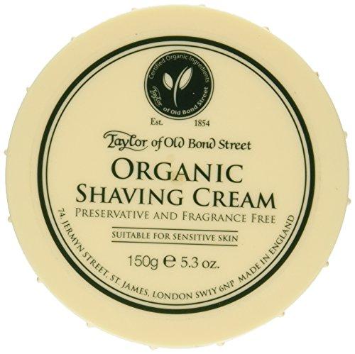 Taylor of Old Bond Street Organic Shaving Cream...