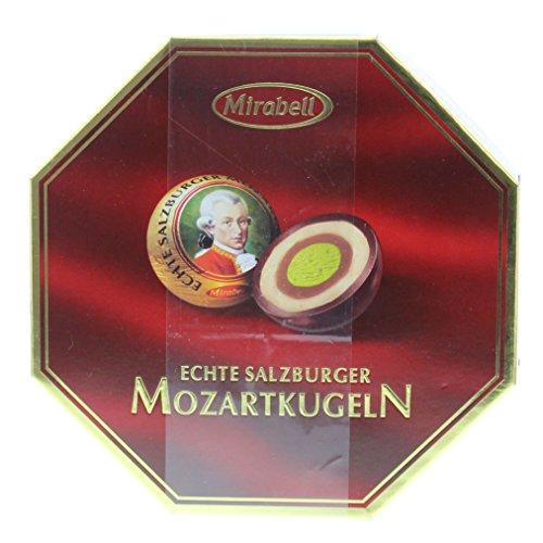 Mirabell - Mozartkugeln - Caja transparente 18er -...