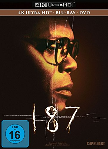 187 - Eine tödliche Zahl (Limited Collector's Edition im Mediabook inkl. UHD-Blu-ray) [Limited Edition]