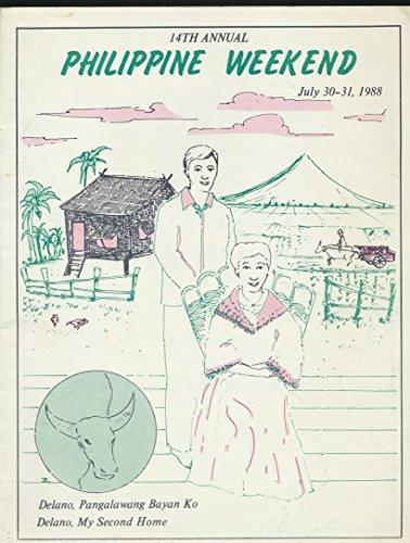 14th Annual Philippine Weekend Souvenir Program ( July 30, 1988)