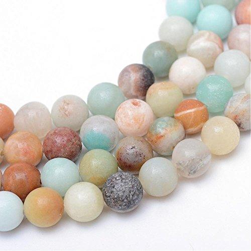 Perlin - Amazonite Perlen 10mm * A Grade * Kugel Edelstein Natursteine G829