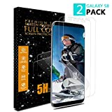Samsung Galaxy S8 Screen Protector,LIAOINTEC [2 Pack] [Not Tempered Glass] [Anti-Scratches] [High Touch Sensitivity] Ultra HD Clear Full Coverage TPU Screen Protector for Samsung Galaxy S8