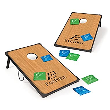 EastPoint Sports Traditional Bean Bag Toss Cornhole Game 36IN X 24IN