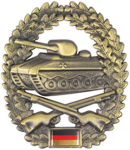 Original Bundeswehr Barettabzeichen aus Metall in verschiedenen Sorten zur Auswahl Farbe Panzergrenadier