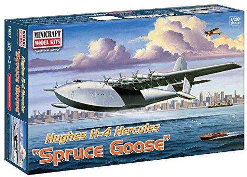 Minicraft Models Dempsey Designs Morceau modèles 1 : 200 échelle modèle épicéa d'oie Kit