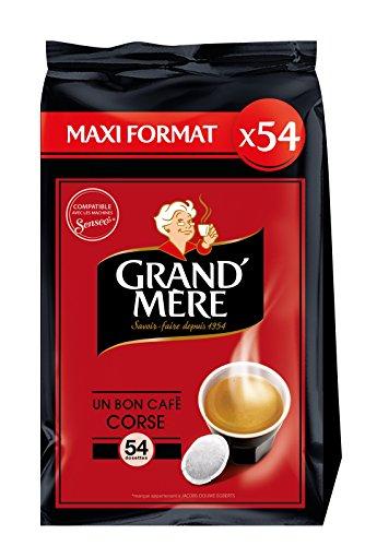 Grand Mère Café 54 Dosettes Corsé compatibles...