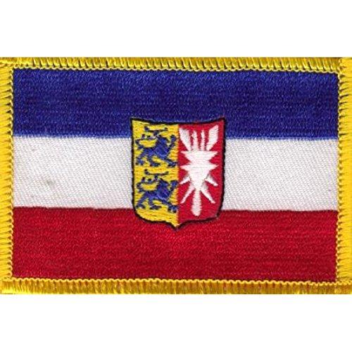 Everflag Patch zum Aufbügeln oder Aufnähen : Schleswig-Holstein - klein