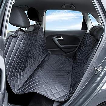 Housse de siège de voiture Pet Express pour Chien : Le protecteur résistant aux déchirures et à l'eau pour siège arrière en cuir, convient aux voitures, camionnettes, SUV et camions