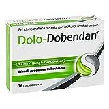 Dolo-Dobendan Halsschmerztabletten 1,4mg/10mg, 1 x 36 Tabletten