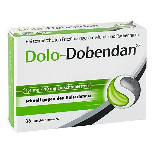 mächtig der welt Dolo-Dobendan-Halsschmerzen Tabletten 1,4 mg / 10 mg, 1 x 36 Tabletten