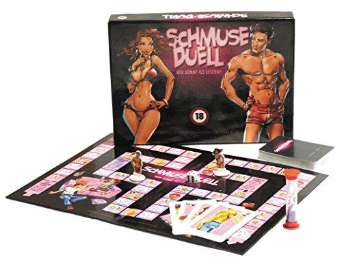 Schmuse-duell plankspel voor volwassenen