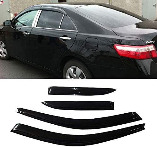 XHRXM 4pcs Front Rear Smoke Sun SALENEW very popular Rain Shade Window Vent Discount mail order Guard Vis