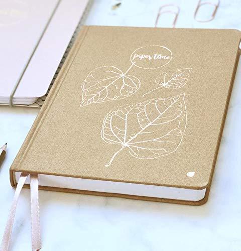 Paper Time notitieboek: met lijntjes, stippen raster en blanco tekenruimte